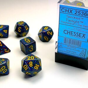Chessex Polyhedral Speckled Twilight (7) - CHX25366