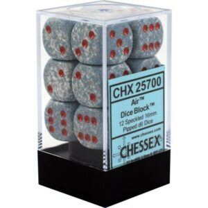 Chessex 12d6 Air Dice Block (12) - CHX25700