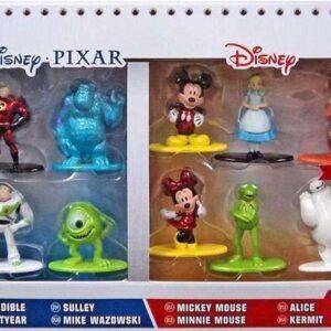 Disney Nano Metalfigs Diecast Mini Figures 10-Pack Wave 1 4 cm