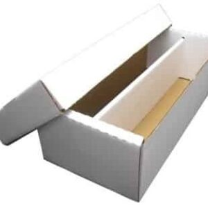 Cardbox / Fold-out Shoe Box with Lid (2000)