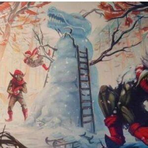Blackfire: Playmat Winter Christmas Edition