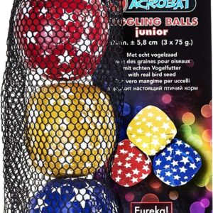 Acrobat Juggling Balls Junior 80 gr Blue/Red/Yellow (3)