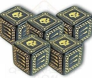 Battle Dice Set 5d6 (WORK07)