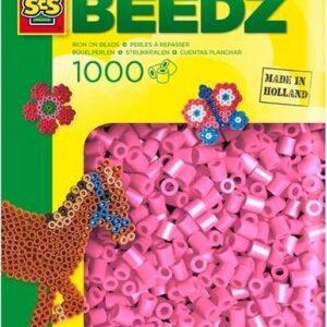 00708 Strijkkralen Roze (1000)