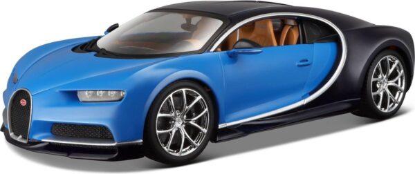Auto Bburago: Bugatti Chiron Blue/Black 1:43