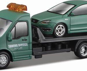 Auto Bburago: Transporter + Ford 1:43