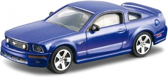 Auto Bburago: Ford Mustang GT Blue 1:43
