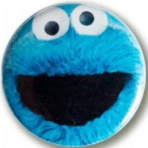 Button Cooky Monster