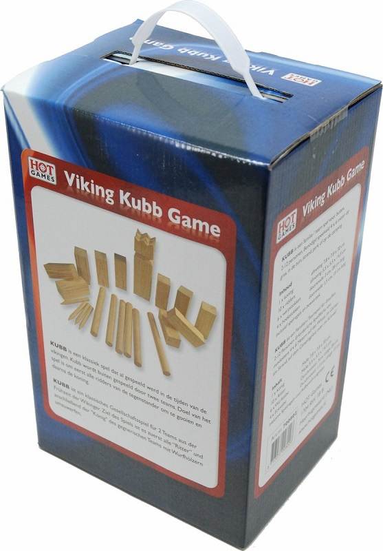 Viking Kubb Game Dennenhout
